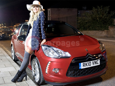 Pixie Lott With The Citroen DS3