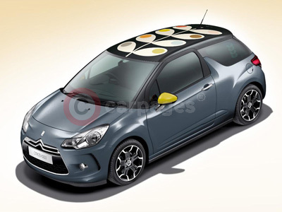Limited Edition Citroen DS3 by Orla Kiely Collection
