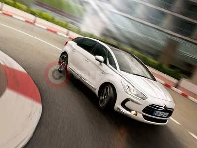 The Citroen DS5 to Premiere at Top Gear Live 2011