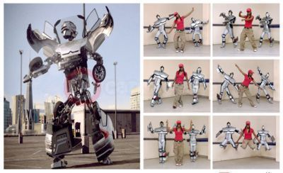 Citroen's popular C4 Dancing Robot