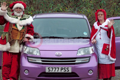 Mr & Mrs Scott With Their Daihatsu Materia