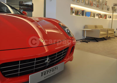 Carrs Exeter - Ferrari Dealer