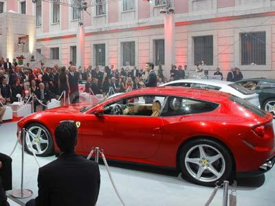 Enrico Galliera During The Ferrari FF Launch