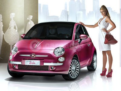 Barbie's Unique Fiat 500