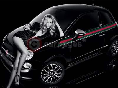 Fiat 500 By Gucci With Natasha Poly