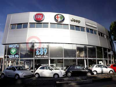 The New Fiat Group Motor Village In Croydon