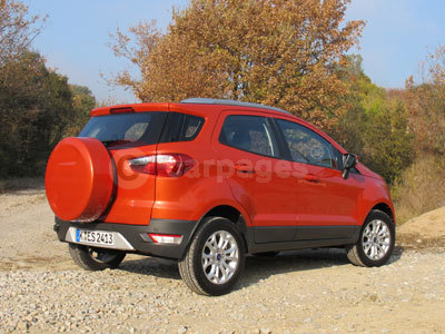 Ford EcoSport(Front / Side View) (2014)