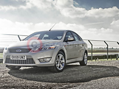 The Ford Mondeo Titanium