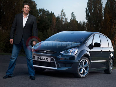 Tony Hadley With The Ford S-MAX