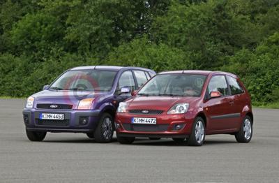 2006 Ford Fiesta and Fusion