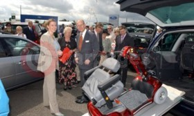 HRH Prince Philip Meets Ford's MAGIC Team
