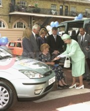 Sylvia Elliott Received The Keys To Her Car From Her Majesty The Queen