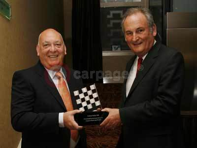 Richard Noble OBE Collects His Ford-Sponsored Jim Clark Award
