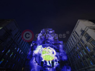 Senate House In The Ford S-MAX Interactive Campaign
