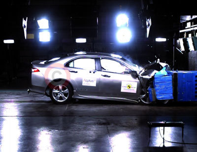 Honda Accord NCAP Crash Test
