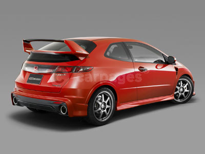 competition to ride in the honda civic type r mugen 2009. Black Bedroom Furniture Sets. Home Design Ideas