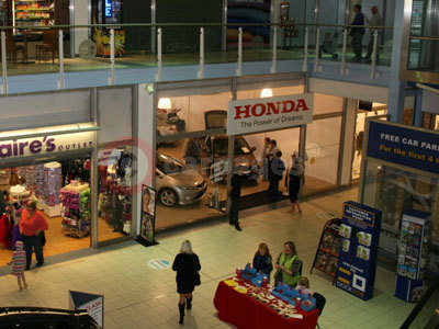 The Honda Dealership At The Dockside Shopping Centre, Chatham Maritime