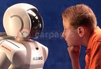 Face To Face With ASIMO