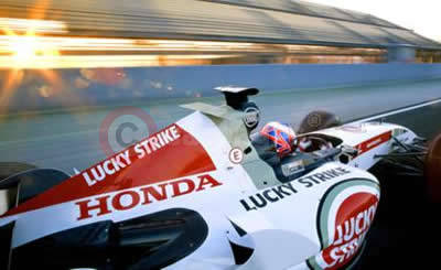 Honda and Jenson Button Go For Glory In 2005