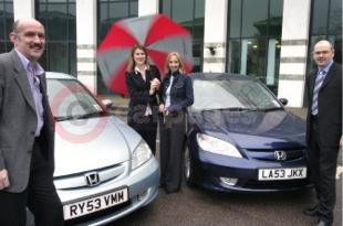 Green Fleet Choice For Whitbread The Civic IMA