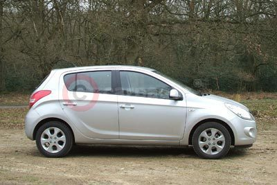 Hyundai i20 Side View