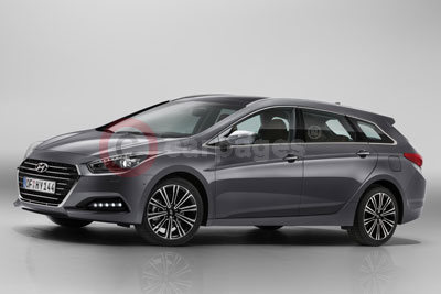 The Revised Hyundai i40 Tourer (MY-2015)