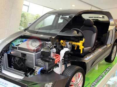 The Hyundai ix35 Fuel Cell Electric Vehicle