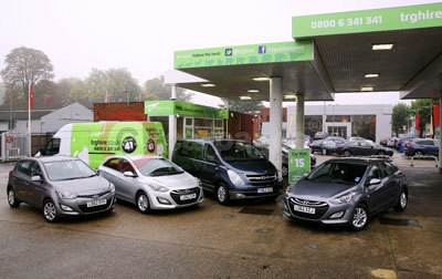 The Hyundai Fleet at trg Vehicle Hire