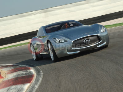 The Infiniti Essence Concept Car