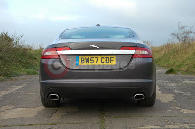 Jaguar XF Rear