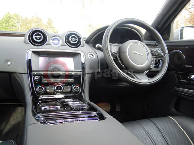 Jaguar XJ Interior (2011)