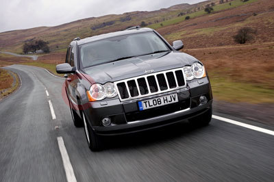 The 2008 Jeep Grand Cherokee Overland