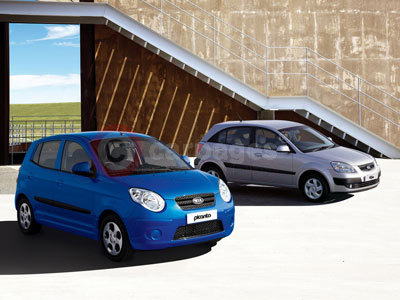 Kia Picanto and Rio Chill