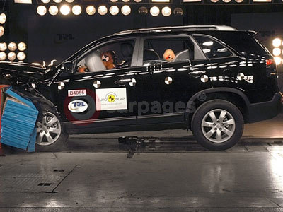 The Kia Sorento NCAP Crash Test