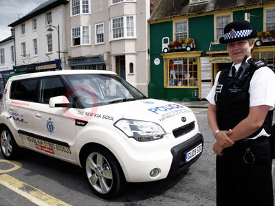 Sussex PCSO With The Kia Soul