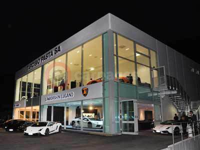 Lamborghini on Home Car News Lamborghini News Lamborghini Lugano Dealership In