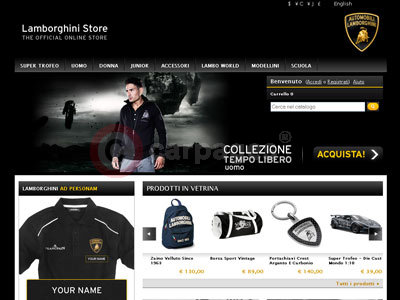 Lamborghini on Home Car News Lamborghini News The New Lamborghini Online Store