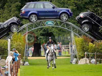 Andrew Nicholson and Avebury At The Land Rover Archway