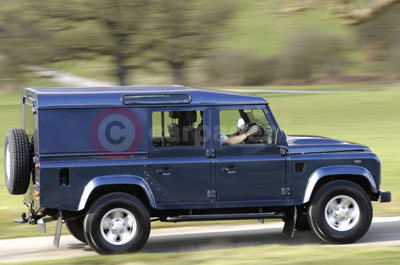 The Land Rover Defender Utility Wagon