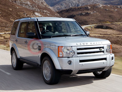 The Land Rover Discovery 3