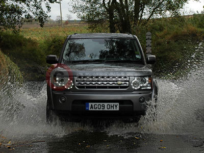 The Land Rover Discovery 4