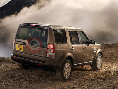 The New Land Rover Discovery 4 Rear View