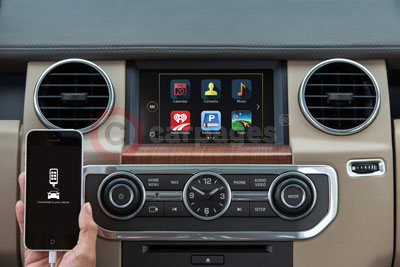 Land Rover Discovery InControl Apps MY-2015 (2014)