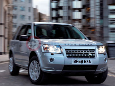 The Land Rover Freelander 2