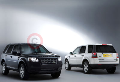 The Land Rover Freelander 2 White & Black Special Editions