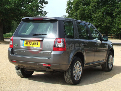 Land Rover Freelander 2 Rear View