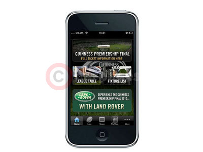 Land Rover iPhone App