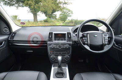 Land Rover Freelander (Interior View) (2013)