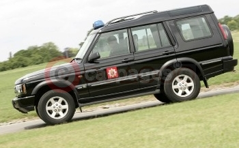 Warwickshire Fire & Rescue's 'Superchipped' Land Rover Discovery Td5. Power is increased by up to 45 bhp and torque by 54 Nm, while fuel economy is improved by 2 mpg