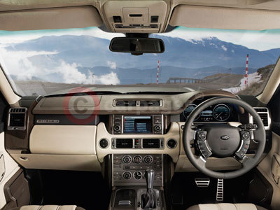 The New Range Rover Dashboard